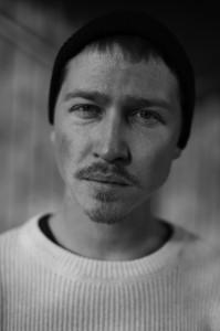 Pressbild av basse davidsson